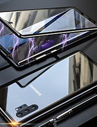 Недорогие -магнито-магнитный адсорбционный металлический стеклянный корпус для Samsung Galaxy Note 10 Pro Note 10 задняя крышка для Samsung Galaxy Note 9 Note 8