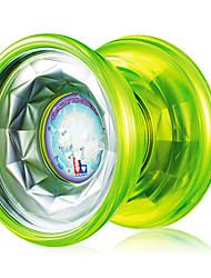 Недорогие -ночь эльфы Qixia пластиковые флэш ночью йо-йо мяч (зеленый)