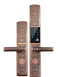 Недорогие -умный замок противоугонной блокировки смарт-противоугонные замки приложение двери вилки дверь отпечатков пальцев пароль