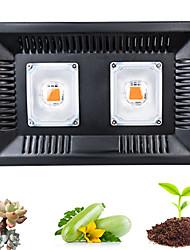 Недорогие -1 комплект 100 W 1000 lm 1 Светодиодные бусины Полного спектра Для парниковых гидропоники Растущие светильники 220 V 110 V Овощеводство