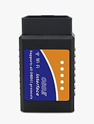 Недорогие -wifi obdii scan tool wifi беспроводной elm327 obd2 автомобильный код сканер сканер диагностический инструмент адаптер диагностический инструмент двигателя для iphone andorid