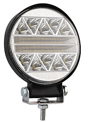 Недорогие -102 Вт 4-дюймовый автомобиль круглой формы светодиодный рабочий свет модифицированный грузовик внедорожных крышных фонарей