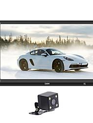 Недорогие -x1 12 В автомобиль MP5-плеер FM-радио BT Aux USB с контроллером рулевого колеса красочные HD емкостный экран