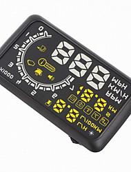 Недорогие -5.5 w02 hud автомобиль head up дисплей obdii kmh mph напряжение предупреждение о скорости спидометр