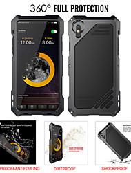 Недорогие -чехол для apple iphone 8 plus / iphone 8 / iphone 7 plus / 6splus / 6 противоударный / водостойкий задняя крышка из цельного металла