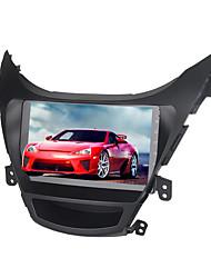 Недорогие -9-дюймовый Android 8.0 4 ГБ 32 ГБ GPS-навигатор с сенсорным экраном автомобильный мультимедийный DVD-плеер для Hyundai Elantra 2012-2014