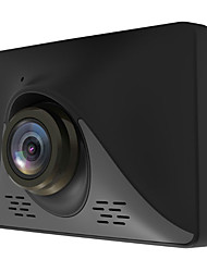 Недорогие -HY10 1080p Full HD / с задней камерой Автомобильный видеорегистратор 170° Широкий угол КМОП-структура 3.2 дюймовый Капюшон с G-Sensor / Режим парковки / Обноружение движения Автомобильный рекордер