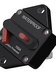 Недорогие -Сброс 12v / 24v предохранителя автоматического выключателя энергии refit мотора автомобиля 100a встроенный