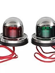 Недорогие -свет для яхт из нержавеющей стали 12 В светодиодный лук красный зеленый навигационные огни морской катер