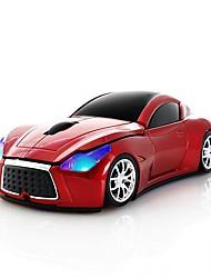 Недорогие -Chuyi 2.4 ГГц прохладный спортивный автомобиль формы беспроводная мышь оптические беспроводные мыши с USB-приемником для портативного компьютера 1600dpi 3 кнопки красный