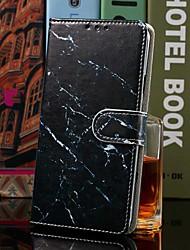 Недорогие -чехол для xiaomi redmi note 7 / redmi 7a кошелек / визитница / с подставкой для всего тела чехлы из искусственной кожи черного мрамора для redmi k20 / k20 pro / note7 pro / note6 / note6 pro / 6 pro