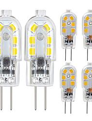 Недорогие -ZDM 6 Pack G4 2,5 Вт Светодиодная лампа 2835 Светодиодные Bi-Pin G4 база 20 Вт Замена галогенная лампа теплый белый / холодный белый dc12v