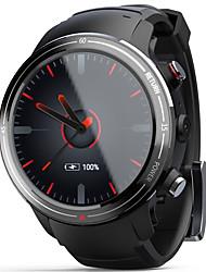 Недорогие -lokmat lok01 lte 4g умные часы bluetooth фитнес-трекер поддержка уведомлений / монитор сердечного ритма четырехъядерный смартфон часы с камерой