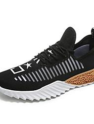 Недорогие -Муж. Комфортная обувь Tissage Volant Лето Спортивная обувь Беговая обувь Черно-белый / Wit En Groen / Белый / Желтый