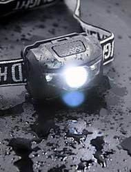 Недорогие -Налобные фонари Светодиодная лампа Cree XPE излучатели 4.0 Режим освещения Прочный Легкость Походы / туризм / спелеология Повседневное использование Велосипедный спорт Белый Цвет источника света