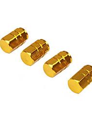 Недорогие -4 шт. / Упак. Шины клапаны из алюминиевого сплава шина воздухозаборники воздухонепроницаемые крышки