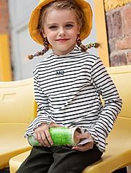 povoljno -Djeca Djevojčice Osnovni Prugasti uzorak Dugih rukava Bluza Obala