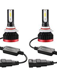 Недорогие -Мини светодиодная лампа автомобильная фара h11 h1 h8 h9 h3 9005 / hb3 9006 / hb4 100 Вт 20000lm 6000 К автомобильная фара