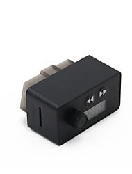 Недорогие -kungfuren obd2 диагностическое устройство адаптер blutooth 4.0 с FM-передатчиком автомобильный bluetooth для ios и android android obd2 диагностический сканер 16-контактный интерфейс obdii для чтения