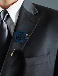 Недорогие -Свадебные цветы Бутоньерки Свадьба / Свадебные прием Шёлковая ткань рипсового переплетения 0-10 cm