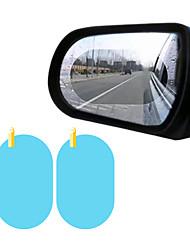 Недорогие -2 шт. Боковое окно автомобиля защитная пленка анти-туман водонепроницаемый антибликовая мембрана наклейка автомобиля овальный 100 * 150 мм