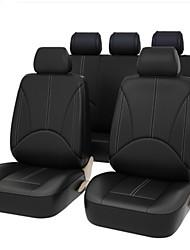 Недорогие -4 шт. / Компл. Расширенный искусственная кожа авто универсальный 5 сидений автомобильные чехлы на сиденья