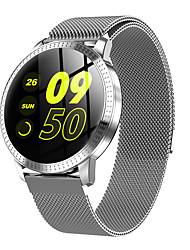 Недорогие -cf18 smartwatch из нержавеющей стали bt фитнес-трекер поддержка уведомлять / пульсометр спортивные умные часы для телефонов samsung / iphone / android