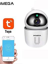 Недорогие -Inqmega Tuya 1080 P домашней безопасности IP Wi-Fi камера видеонаблюдения камера беспроводная сеть мини камера видеонаблюдения радионяня PTZ обнаружение движения ночного видения