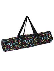 Недорогие -Водонепроницаемый холст практичный коврик для йоги пилатес сумка для переноски на шнурке спортивная гимнастика фитнес рюкзак для коврика для йоги