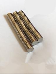 Недорогие -500 pcs 4*1mm Магнитные игрушки Конструкторы Сильные магниты из редкоземельных металлов Неодимовый магнит Детские / Взрослые Мальчики Девочки Игрушки Подарок