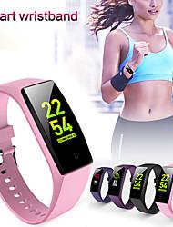 Недорогие -Умный браслет v18 bt фитнес-трекер поддержка уведомлений / монитор сердечного ритма водонепроницаемый спортивный SmartWatch совместимый IOS / Android телефонов