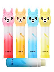billige -4 pcs 4 farver Indeholder ikke alkohol / Naturlig / Smuk Våd Tegnefilm Design / Sød Trendy / Mode Makeup Kosmetiske Plejemidler