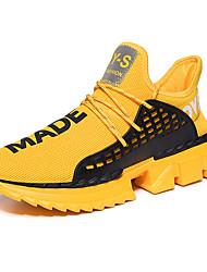Недорогие -Муж. Комфортная обувь Tissage Volant Наступила зима Спортивные Спортивная обувь Беговая обувь / Для прогулок Дышащий Черный / Темно-красный / Белый / Нескользкий / Амортизирующий