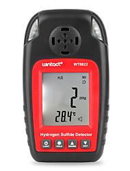 Недорогие -wt8822 детектор сероводорода независимый датчик газа h2s, предупреждающий высокочувствительный детектор тревоги отравления