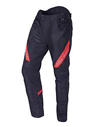 Недорогие -мужские мотоциклетные костюмы для беговых гонок защитная одежда с светоотражающей линией категории брюки черные и красные