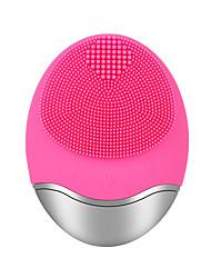 Недорогие -jmy-003 силиконовая щетка для лица косметическая стиральная электрическая массажная щетка для лица отшелушивающий угорь мягкая глубокая чистка щетки для лица