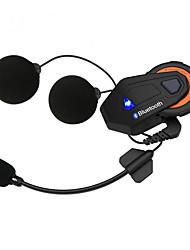 Недорогие -Мотоцикл групповой разговорной системы 1000 м 6 всадников bt домофон шлем домофон гарнитура FM-радио