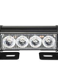 Недорогие -2 шт. 12 В светодиодные вспышки стробоскопы передняя решетка сигнальная лампа водонепроницаемый с 7 мигающими переключателями режимов для грузовика грузовой автомобиль с прицепом