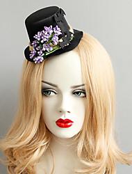 Недорогие -Жен. лакомство Винтаж модный Ткань Сплав шляпа Заколки для волос Halloween