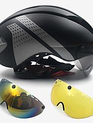 Недорогие -WILDSIDE Взрослые Мотоциклетный шлем Защитные Велошлем с защитной маской 7 Вентиляционные клапаны ESP+PC прибыль на акцию Виды спорта Велоспорт троеборье Путешествия -