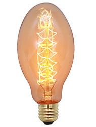 Недорогие -1шт 40 W E26 / E27 Тёплый белый Декоративная Лампа накаливания Vintage Эдисон лампочка 220-240 V