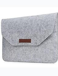 billige -mote ull filt laptop ermet veske bærbar veske for macbook air pro retina 11 13 15 tommers laptop liner bag
