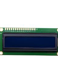 Недорогие -1602 кег 5В синий экран (один резистор)