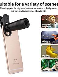 Недорогие -универсальный клип 8x зум сотовый телефон телескоп объектив телеобъектив внешний смартфон объектив камеры для iphone samsung huawei