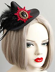 Недорогие -Жен. лакомство Массивный Винтаж Резина Перья Ткань шляпа Заколки для волос Halloween Тематическая вечеринка