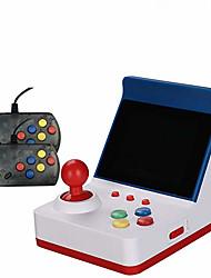 Недорогие -a6 мини ретро аркадная игровая консоль 3.0 дюйма 32-битные классические игры с 2 контроллерами