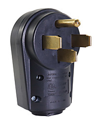 Недорогие -Розетка на 50 А, вилка на розетку, со штекером 14-50p, запасной электрический адаптер