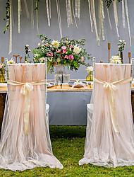 Недорогие -украшение из атласа / тюля из пвх - свадьба / вечеринка / вечерняя тема / креатив / свадьба