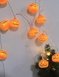 Недорогие -Садовые светильники Хэллоуин Аккумуляторы 1 W <5 V