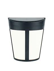 Недорогие -1шт 3 Вт наружные настенные светильники / светодиодный уличный светильник / настенный светильник на солнечной батарее водонепроницаемый / солнечный / новый дизайн теплый белый / белый 1,2 В наружное